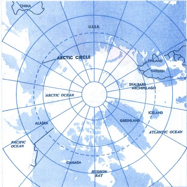 Free Coloring Pages Of Arctic Circle Map Of The World Colouring Page